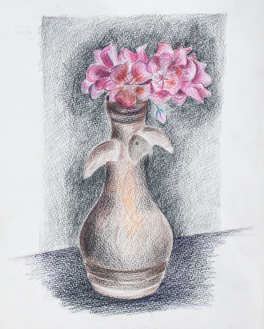 """Painting """"Flowers"""", painted by Elena Birkenwald in 2004"""