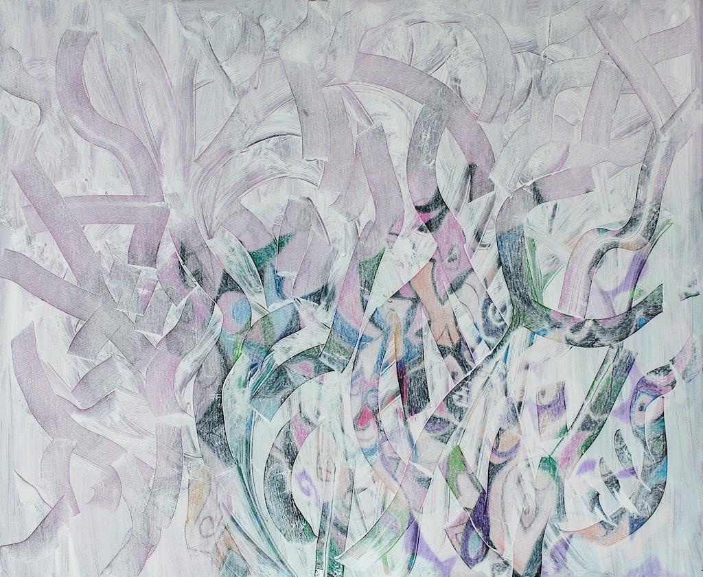 "Painting ""Tenderness"", painted by Elena Birkenwald in 2011"