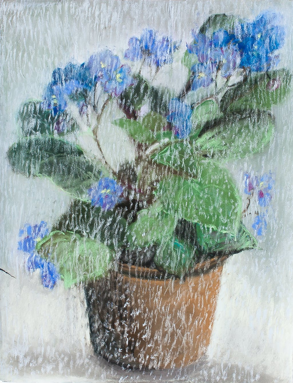 "Painting ""Viola"", painted by Elena Birkenwald in 2007"