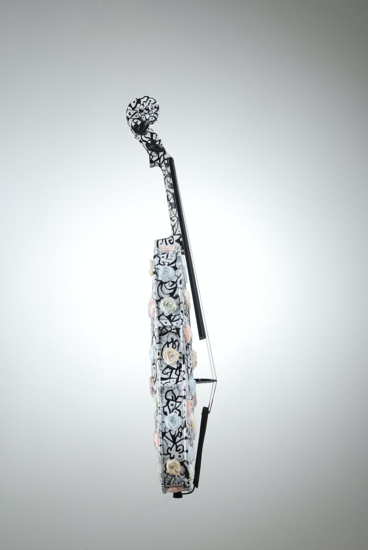 """Violin """"Pastorale"""", painted by Elena Birkenwald in 2008"""
